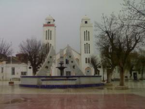 منارة المسجد الكبير لمدينة تيسمسيلت