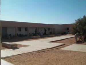 المستشفى الرئيسي لمدينة تندوف