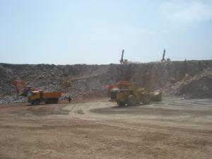 محطة استخراج الحصى المطروحة بولاية الطارف