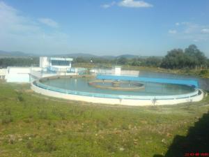محطة معالجة المياه ببلدية بوحجار