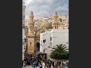 صورة لمسجد كتشاوة بالجزائر العاصمة