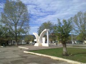 نصب تذكاري بوسط مدينة بوحجر