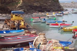 ميناء الصيد البحري بساحل ولاية بومرداس