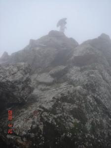 الضباب على جبل تازروت