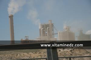 تلويث البيئة و إلحاق الضرر بصحة المواطن بسبب الغازات السامة التي يطرحها مصنع الإسمنت ببلدية زهانة