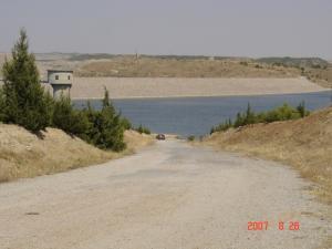 صورة من سد عين زادة (ولاية برج بوعريريج)