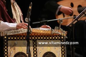 عرض موسيقي للأركيسترا المغربية خلال الحفل الإختتامي لفعاليات