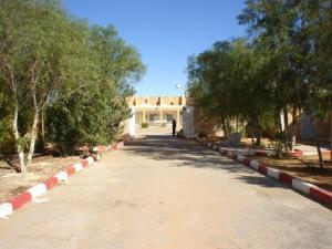 مدخل معهد التكوين المهني لمدينة دب داب