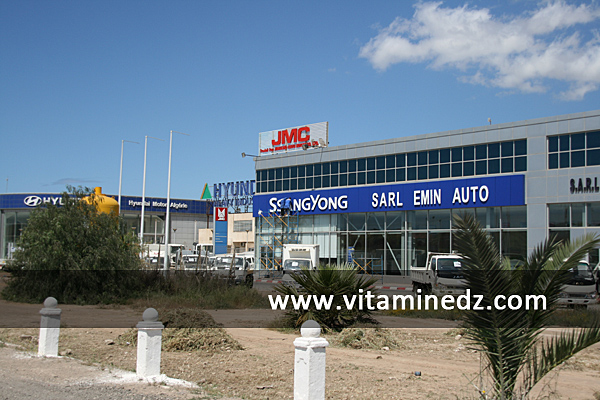 SsanYong à Oran, Nouveaux showrooms de concessionnaires à Essenia, route de l'Aéroport
