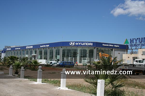 hyundai oran nouveaux showrooms de concessionnaires essenia route de l 39 a roport alg rie. Black Bedroom Furniture Sets. Home Design Ideas