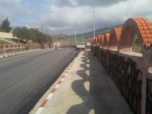 المدخل الجديد لمدينة زبوجة (ولاية شلف)