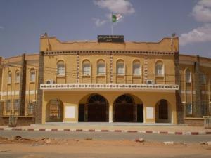 مدخل دار الثقافة لمدينة إليزي