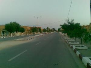 شارع الشهداء ببلدية بوڨطب