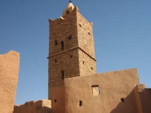 منارة المسجد العتيق لقصر شلالة