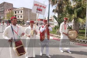 Troupe De Zorna Daoud Kharroubi, Chlef, Parade populaire de groupe folkloriques algériens aux cérémonies de clôture de Tlemcen capitale de la culture islamique 2011 (21/04/2012)