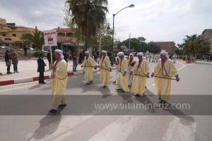 Association Afrah de Danse populaire, Naama aux cérémonies de clôture de Tlemcen capitale de la culture islamique 2011 (21/04/2012)