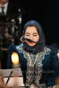 Meriem Benallal aux Festivités du Maoulid Ennabaoui, dans le cadre de Tlemcen, Capitale de la culture islamique, 04 février 2012