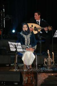 Meryem Benallal aux Festivités du Maoulid Ennabaoui, dans le cadre de Tlemcen, Capitale de la culture islamique, 04 février 2012