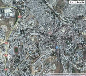 سوق أهراس زنقة زنقة بيت بيت دار دار صور قمر صناعي