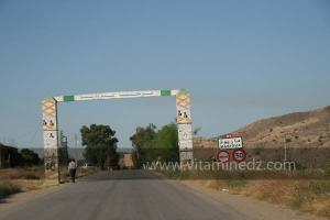 Village de Merrioua dans La commune de Ain Tarik, wilaya de Relizane