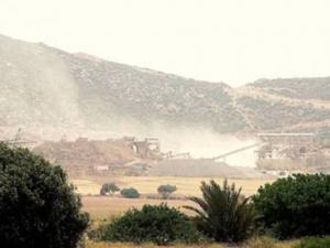 Aïn Temouchent - Alerte à la poussière des carrières!