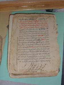 مخطوطات جد قيمة بمكتبة الزاوية البكرية بتمنطيط بحاجة إلى ترميم