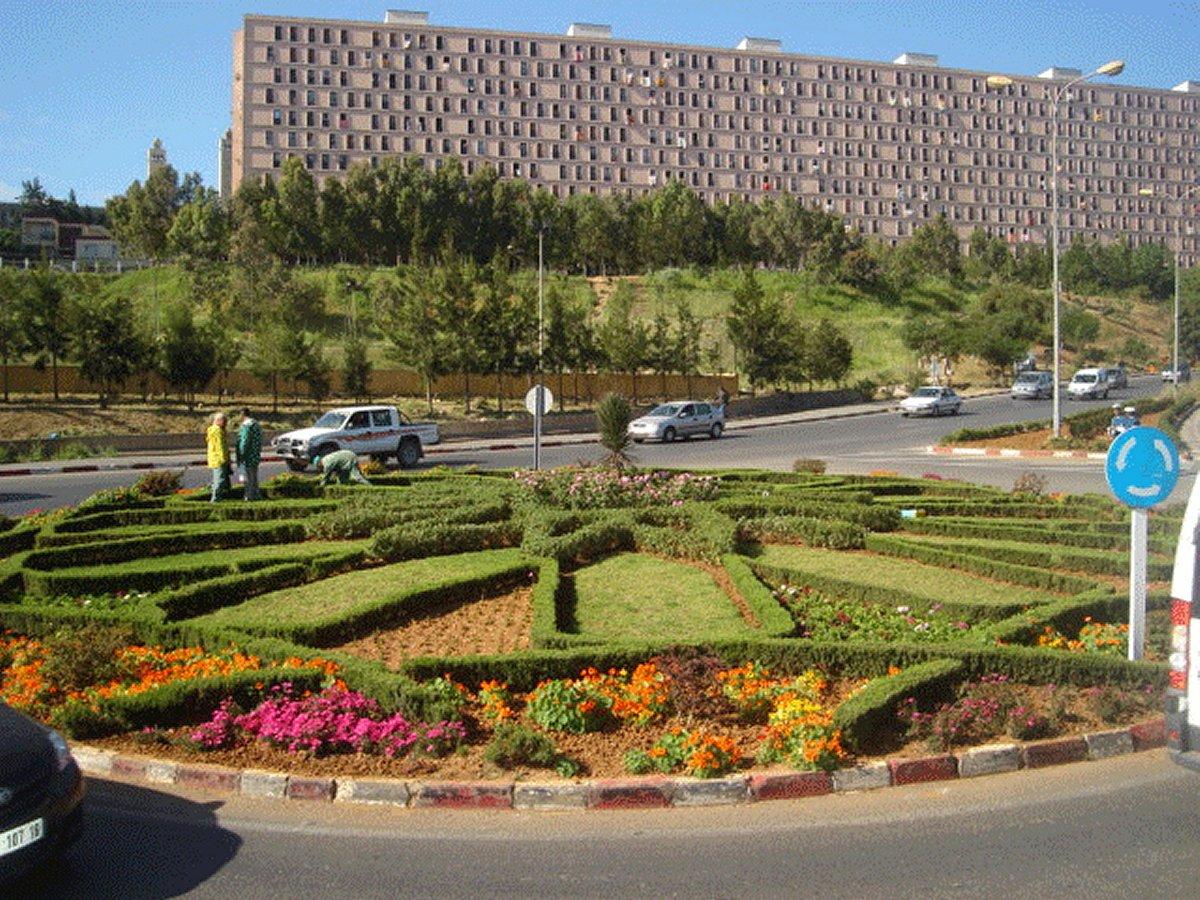 Rond Point Cité Malki, Alger