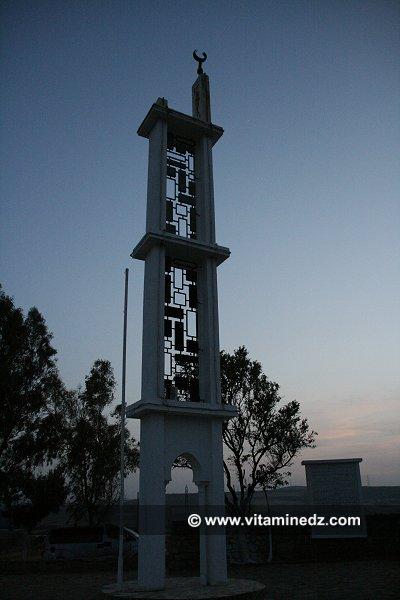St�le � la gloire de l'emir Abdel Kader, lieu ou fut sign� le trait� de la tafna en 1837