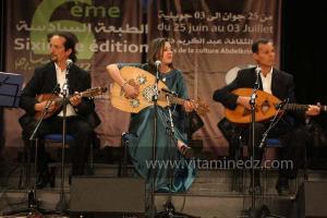 L\'association musicale Assoundoucia d\'Alger à la 6è édition du Festival de musique Hawzi à Tlemcen.