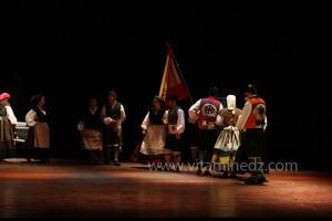L\'Espagne à la 8eme edition du festival international des danses populaires de Sidi Bel Abbes. Ici en visite à Tlemcen.