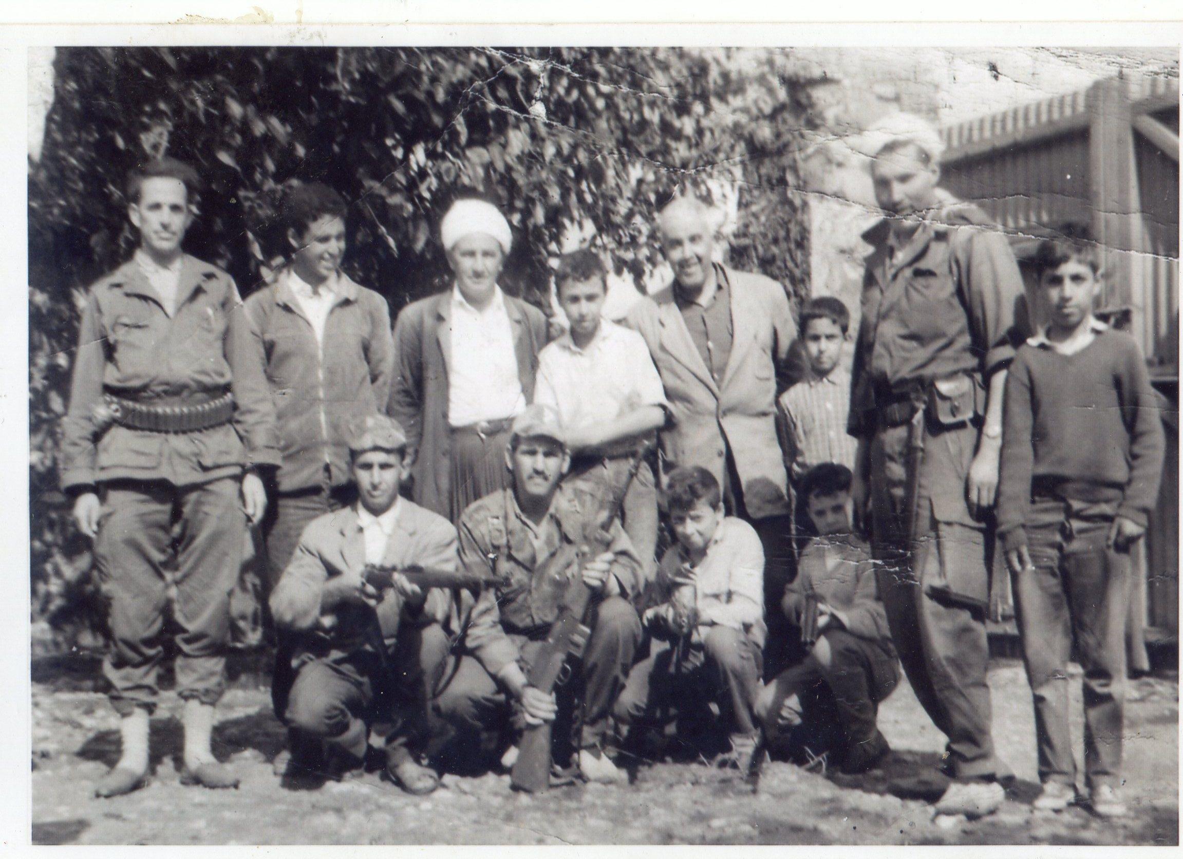 Photo de moudjahidines la ferme de la famille Bendani � Sirat Mostaganem