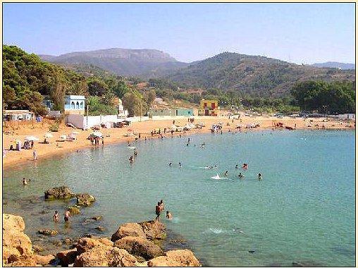 La plage de Tafsout, Tlemcen