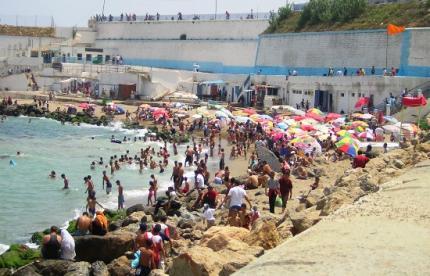 La plage Padovani, Bab El Oued