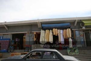 Commerce de maroqinnerie à Frenda