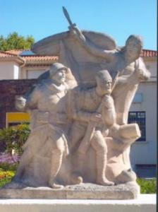 Tlemcen, Monument du 2e Regiment de Chasseurs