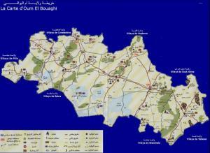 خريطة أم البواقي