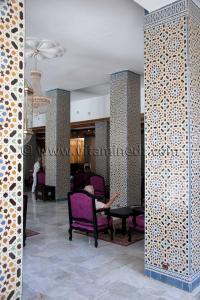 Fernand Pouillon architecte mediterraneen Hotel Les Zianides, Tlemcen