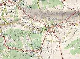 خريطة فرندة