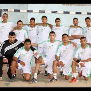 20aout équipe de ghardaia de hand ball