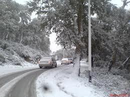 ANNABA - Premières chutes de neige