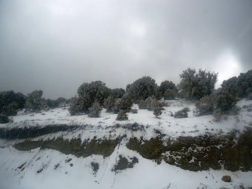 col de Ain Tinne 1805 m-Route Arris Batna