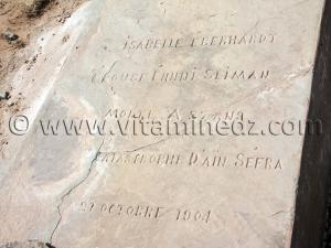 Tombe d\'Isabelle Eberhardt le 21 octobre 1904