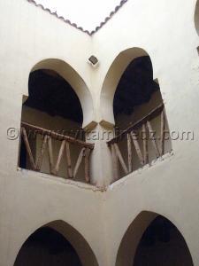 Moghrar Ettahtani ou Kalat Cheikh Bouamama, sa maison et sa mosquée rénovées (photos Juillet 2005)