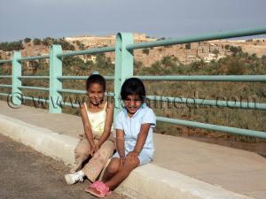 Photos Petites filles souriantes de Beni Abbes (Wilaya de Bechar)