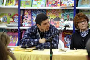 SEIF EL MOULOUK SAKTA au Printemps des Poètes à la Librairie Alili (Tlemcen - Algérie)