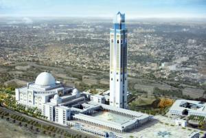 M�tiers du b�timent: Formations sur le chantier de la Grande-Mosqu�e d'Alger