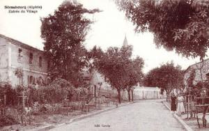 مدخل لمدينة الامير عبد القادر في عهد الاستعمار