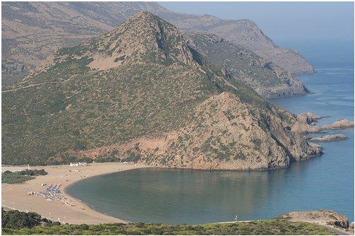 Vue sur la plage de Madagh, Oran