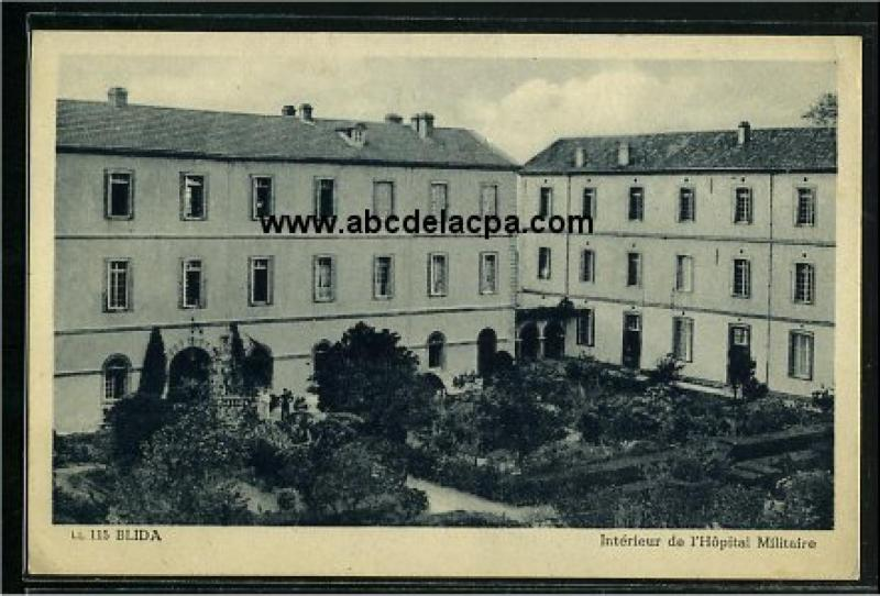 Photos anciennes blida album photo photographie photos for Interieur hopital