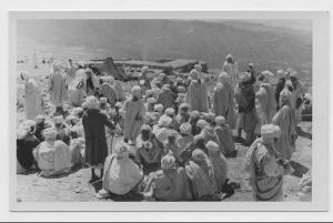 Repas cérémoniel donné à l'occasion de la fête des msamda le 26.07.1935